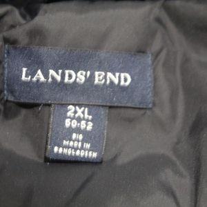 Lands' End Jackets & Coats - Lands End Puffer Vest Down Feather Warm Size 2XL